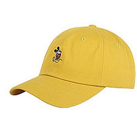 Disney Authentic Baseball Trucker Golf Sports Hats mickey Simple BALL CAPs Yellow