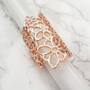 Floral Life Ring