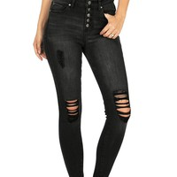 Retract High Waist Skinnys
