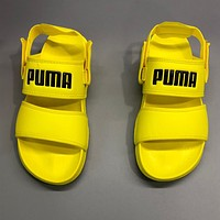 Puma Fashion Hot Sale Couples Logo Logo Beach Sandals