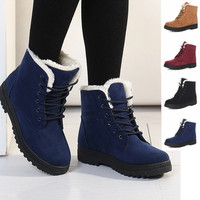 Classic Women's Snow Boots Fashion Winter Short Boots = 1932398340