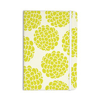 "Pom Graphic Design ""Grape Blossoms"" Yellow Circles Everything Notebook"