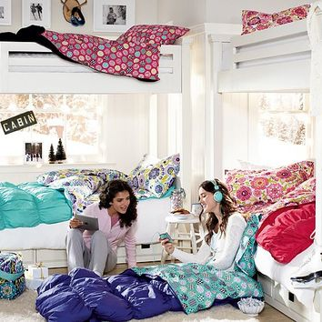 Ruched Sleepover Bedroom