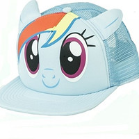 My Little Pony Rainbow Dash with Ears Truckers Hat