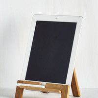 Rustic Easel Does It Tablet Stand by ModCloth