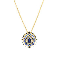 Olivia Welles - Peacock Perfection Necklace