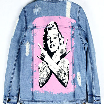 Modern Marilyn Denim Jacket