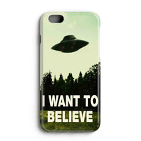 """Apple Iphone 6 4.7"""" Case - The Best 3d Full Wrap Iphone Case - I Want To Believe Xfiles Photo"""
