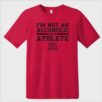 I'm Not An Alcoholic Drinking  T-shirt   Graphic T-shirts   Novelty T-shirts   Drinking T-shirts   Funny Saying On T-shirts   Unisex Tees