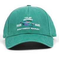 Gunnison Embroidered Hat in Washed Bimini Green by Southern Marsh