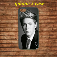 iphone 5 case,iphone 5 hard case,iphone 5 cover,iphone 5 hard cover---Niall Horan, ONE DIRECTION,in plastic