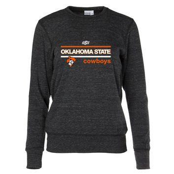 Official NCAA Oklahoma State University Cowboys - 01AMCS42 Women's Crew Neck Sweatshirt
