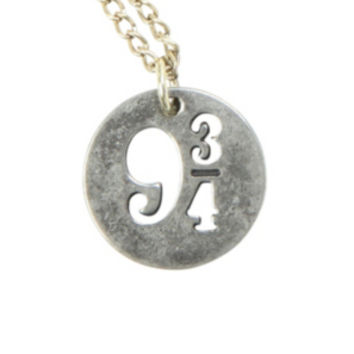 Harry Potter 9 3/4 Disc Necklace