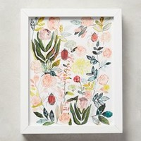 Michelle Morin Climbing Rose Wall Art in Holly Size: One Size Decor