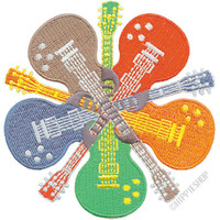 Guitars Patch on Sale for $5.99 at HippieShop.com
