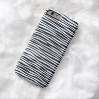 Wavy Lines (iPhone4-6+ & Androids) Barely There iPhone 6 Case