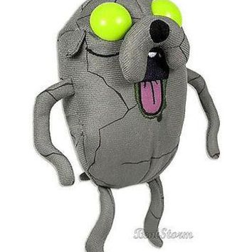 """Licensed cool NEW Adventure Time With Finn and Jake: CANDY ZOMBIE JAKE dog  5"""" PLUSH TOY"""