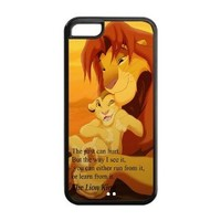 Mystic Zone The Lion King Simba Cover Case for Iphone 5C TPU (Cheap IPhone5)
