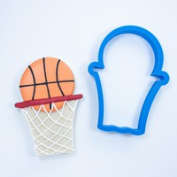 Basketball Hoop With Net Cookie Cutter