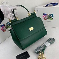 D&G Women Leather Shoulder Bag Satchel Tote Bag Handbag Shopping Leather Tote Crossbody Satchel Shouder Bag