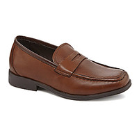 Kenneth Cole Reaction Boys' Club Step Penny Loafers - Cognac