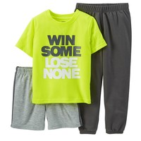 Carter's 3-Piece Winning Pajama Set - Boys