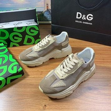 D&G  Woman's Men's 2020 New Fashion Casual Shoes Sneaker Sport Running Shoes
