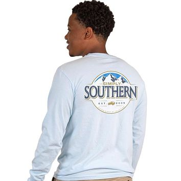 Simply Southern Mountains Unisex Comfort Colors Long Sleeve T-Shirt