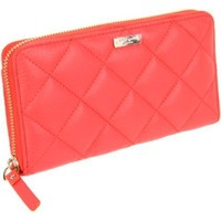 Kate Spade New York Gold Coast Lacey Wallet,Coral,One Size