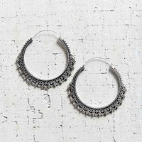 East End Large Hoop Earring