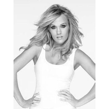 """Carrie Underwood Poster Black and White Poster 16""""x24"""""""