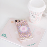 Beautiful iPhone 7 & 7 Plus Case (Pastel Medallion Pattern) by Casetify