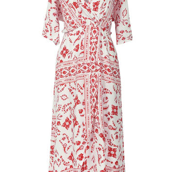 Cupshe Poetic Changes Floral Maxi Dress