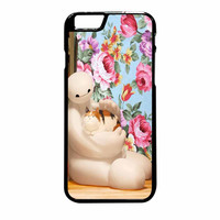 Big Hero 6 Baymax Floral Disney iPhone 6 Plus Case