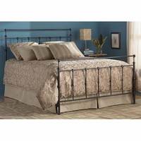 Fashion Bed Group B41155 Winslow Mahogany Gold Queen Bed Frame