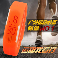 2015 New Fashion Candy Color Men Women Intelligent LED Sports Silicone Bracelet Wrist Watch Water Proof For Couples 11 Colors = 1958074308