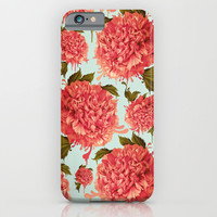 A Splash of Peony, A Dash of Color iPhone & iPod Case by Kristy Patterson Design