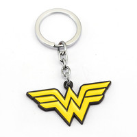 Wonder Woman Pendant Keychain