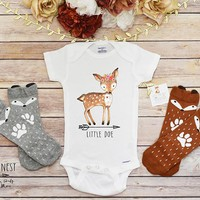 Baby Girl Clothes, Little Doe Onesuits®