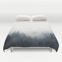 I Don't Give A Fog Duvet Cover by Tordis Kayma | Society6