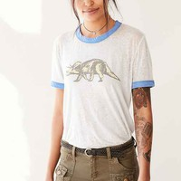 Truly Madly Deeply Dinosaur Ringer Tee