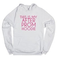 This Is My After Prom Hoodie-Unisex White Hoodie