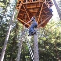 Bike-Powered Elevator to the Treehouse