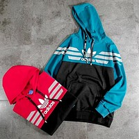 ADIDAS new hooded sportswear casual sweater pullover
