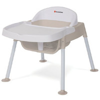 Foundations Secure Sitter Feeding Chair White/Tan - 4607247