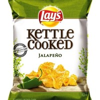 Lay's Kettle Cooked Potato Chips, Jalapeno, 8.5 Ounce