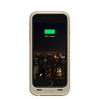 mophie juice pack plus - Protective Mobile Battery Pack Case for iPhone 6/6s - Gold