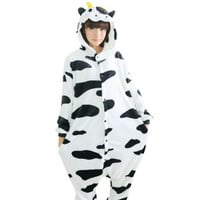 Adult Cow Onesuit Pajamas