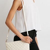 Quilted Faux Leather Convertible Crossbody