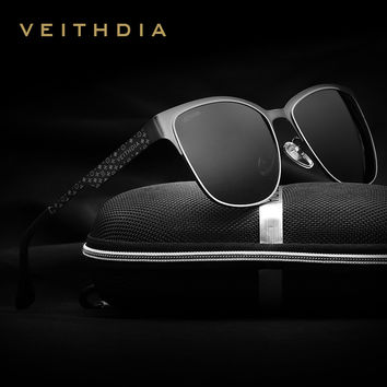 Stainless Steel Polarized Sunglasses - 4 Colors